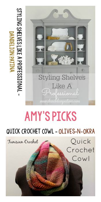 Tuesday Pin Party | Amys Picks - Dandelion Patina and Olives-n-Okra