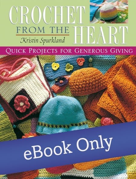 Cover | Crochet From the Heart | Book Review | Oombawka Design