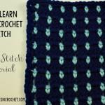 Block Stitch Tutorial | LLANCS | oombawkadesigncrochet.com