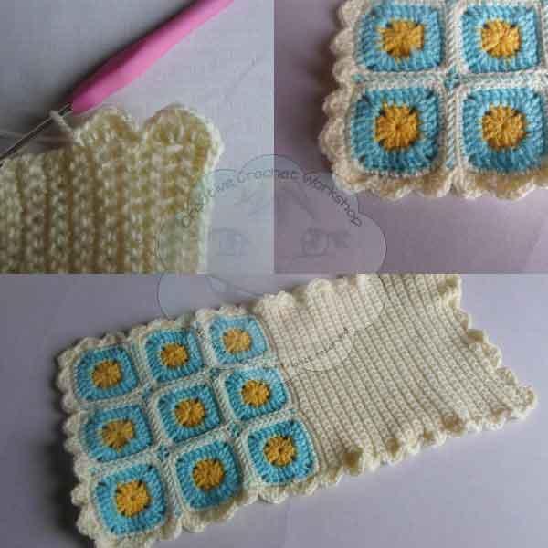 7 A Granny Square Crochet Booklet | Guest Contributor Post | oombawkadesigncrochet.com