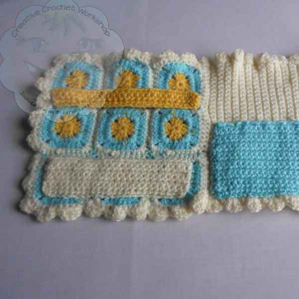 strips | A Granny Square Crochet Booklet | Guest Contributor Post | oombawkadesigncrochet.com