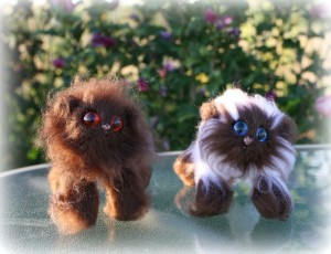 Choc and Choc pt | Little Oombawkas | Mini Meow CAL | OombawkaDesign