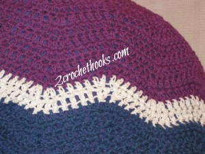 Close up ripple shrug pattern 2crochethooks