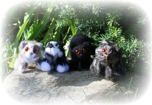 Julies Cats | Little Oombawkas | Mini Meow CAL | OombawkaDesign
