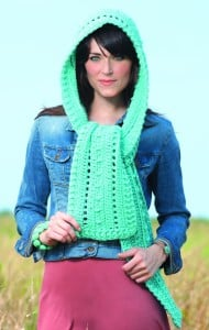 Aruba Hooded Scarves to Crochet | Book Review @OombawkaDesign