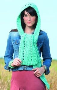Aruba Hooded Scarves to Crochet | Book Review @OombawkaDesign