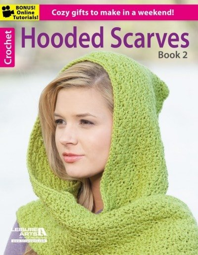 Hooded Scarves, Book 2 | Review @OombawkaDesign