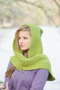 Lauren | Hooded Scarves, Book 2 | Review @OombawkaDesign