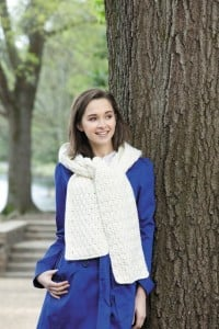 Becky | Hooded Scarves, Book 2 | Review @OombawkaDesign
