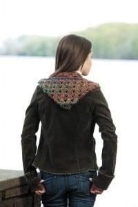 Angelina | Hooded Scarves, Book 2 | Review @OombawkaDesign