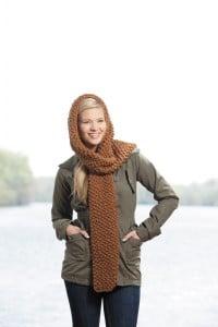 Meghan | Hooded Scarves, Book 2 | Review @OombawkaDesign