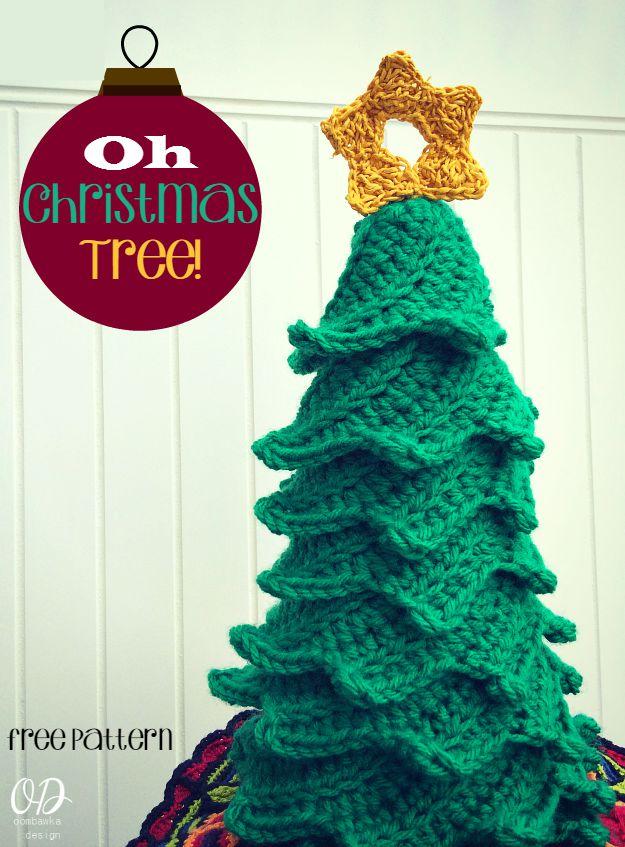 Oh Christmas Tree! Free Pattern Oombawka Design Crochet