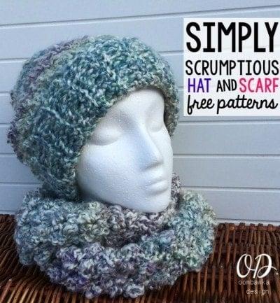 Simply Scrumptious Hat | Free Pattern | oombawkadesigncrochet.com