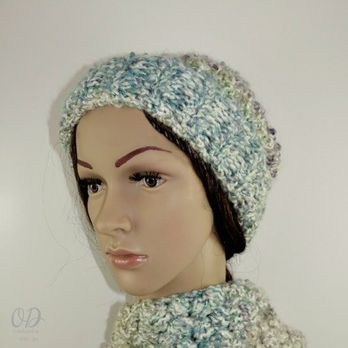 Simply Scrumptious Slouch with Scarf