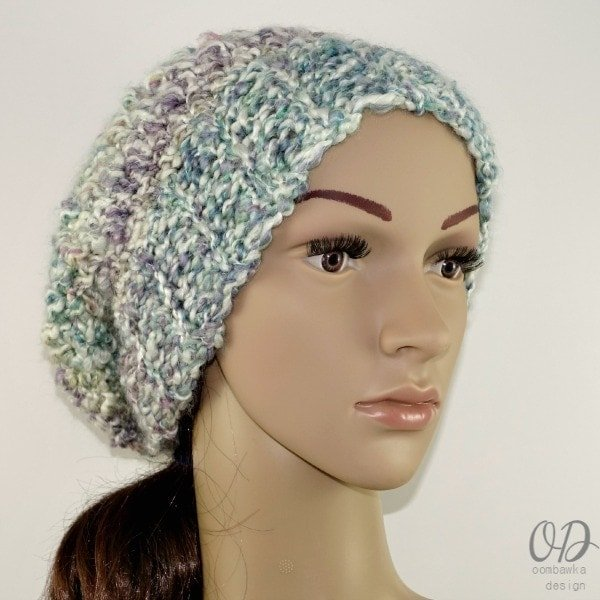 Simply Scrumptious Slouch Hat Free Pattern Oombawka Design