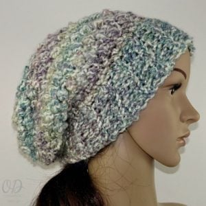 Simply Scrumptious Slouch Hat Pattern. Oombawka Design Crochet.