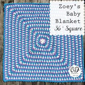 Zoey's Crochet Baby Blanket Pattern