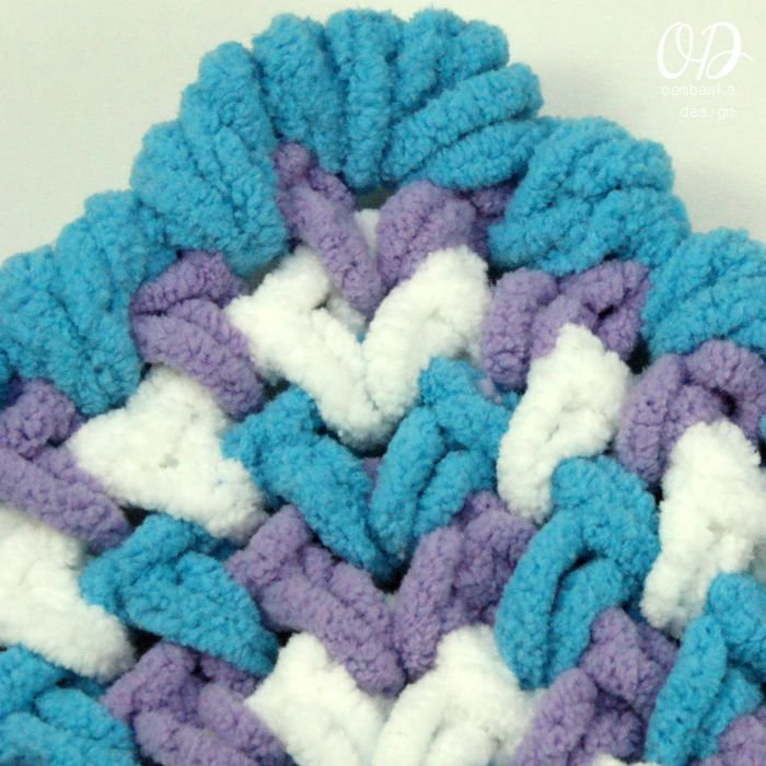 Zoeys Crochet Baby Blanket Pattern Oombawka Design Crochet