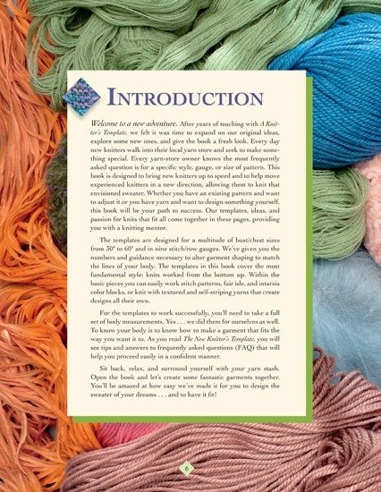 Introduction | The New Knitter's Template | | Book Review | OombawkaDesign