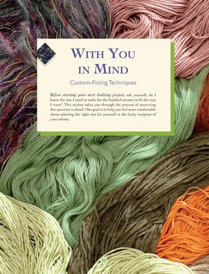 With You In Mind | The New Knitter's Template | | Book Review | OombawkaDesign