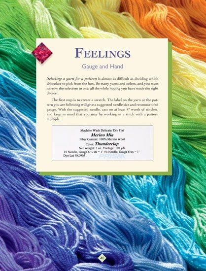Feelings | The New Knitter's Template | | Book Review | OombawkaDesign