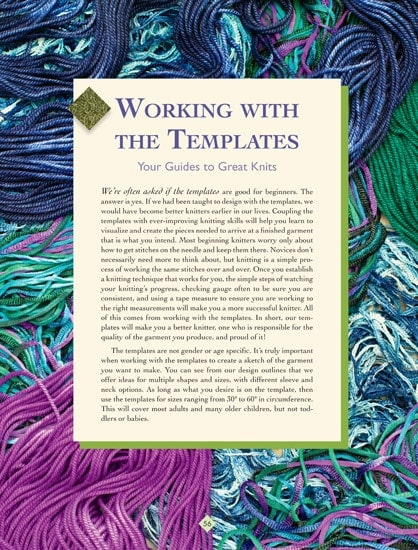 Working with the Templates | The New Knitter's Template | | Book Review | OombawkaDesign