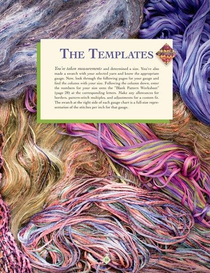 The Templates | The New Knitter's Template | | Book Review | OombawkaDesign