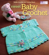 Cover | Sweet Baby Crochet | Book Review | Oombawka Design