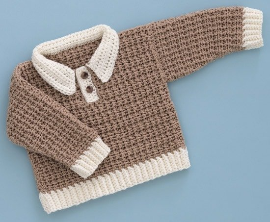 Gingerbread Man Pullover | Sweet Baby Crochet | Book Review | Oombawka Design
