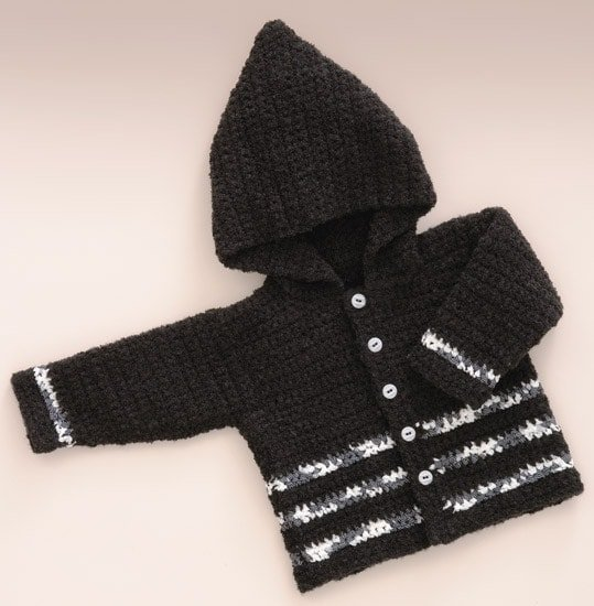Little Man Hoodie | Sweet Baby Crochet | Book Review | Oombawka Design