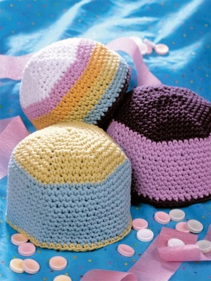 Sweet Baby Hat | Crochet from the Heart | Book Review | Oombawka Design
