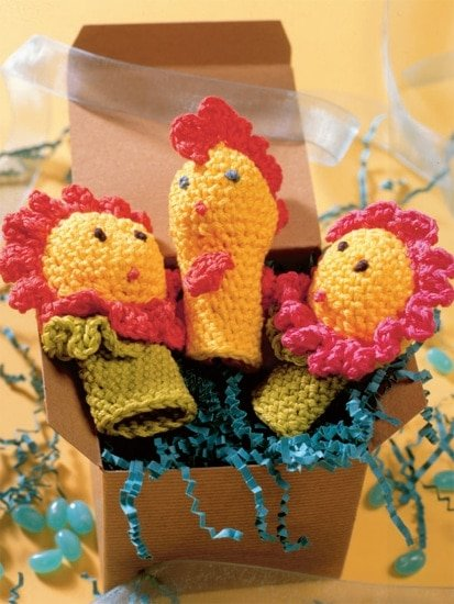 Finger Puppets | Crochet from the Heart | Book Review | Oombawka Design