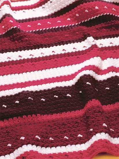 Lap Blanket | Crochet from the Heart | Book Review | Oombawka Design