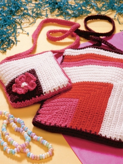Geometric Bags| Crochet from the Heart | Book Review | Oombawka Design