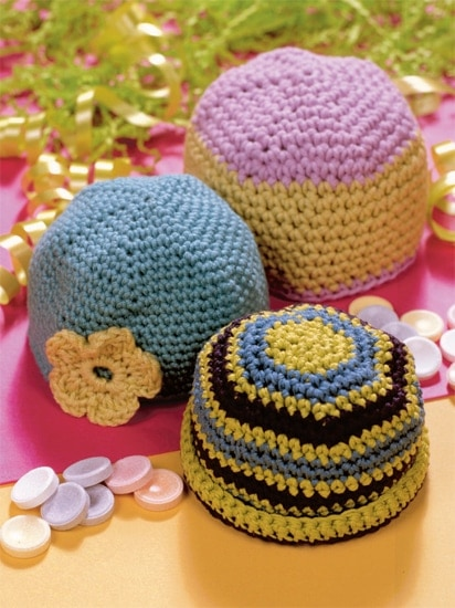 Preemie Hats | Crochet from the Heart | Book Review | Oombawka Design