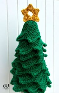 3 Star | Christmas Tree | Free Pattern | Oombawka Design