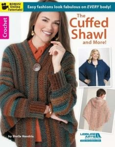 The Cuffed Shawl and More | Book Review | oombawkadesigncrochet.com