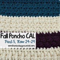 Crochet With Us – Fall Poncho CAL | Part 5