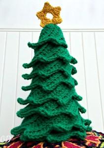 5 Star | Christmas Tree | Free Pattern | Oombawka Design