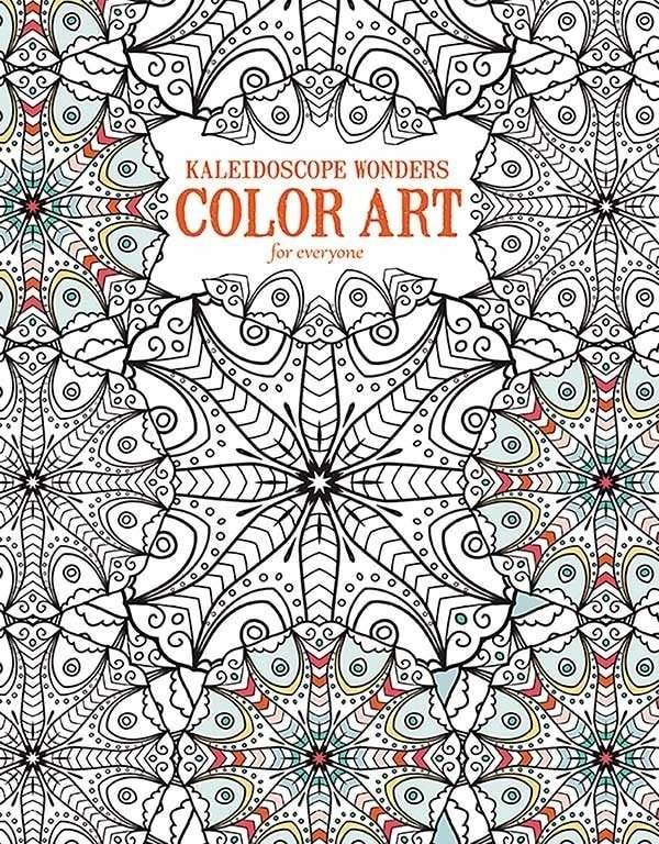 Kaleidoscope Wonders COLOR ART for everyone | Review | Oombawka Design Crochet