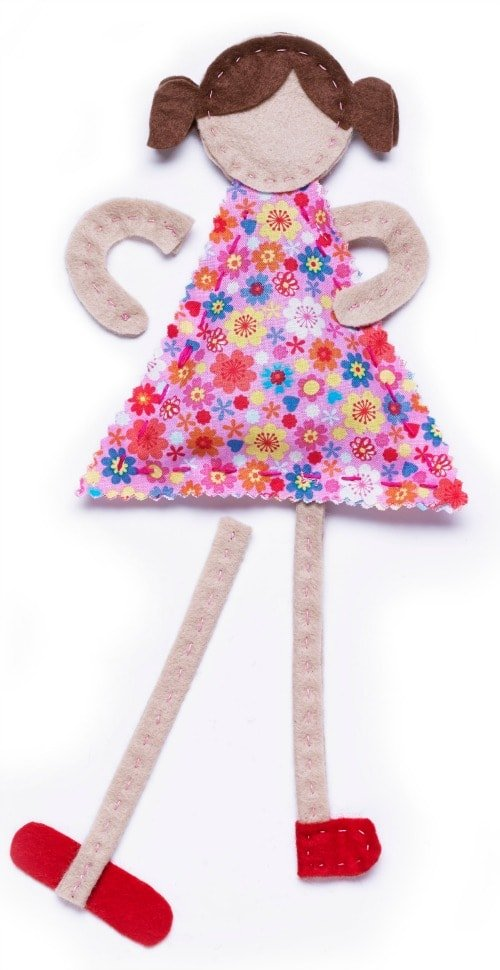 Excerpted from Crafty Dolls – copyright 2014 Jane Bull / Dorling Kindersley Ltd.
