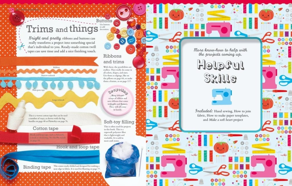 Trims and Things | Get Set Sew | Book Review | oombawkadesigncrochet.com