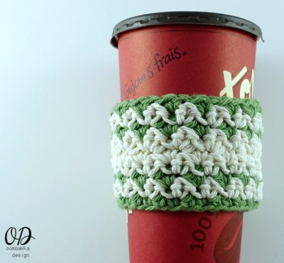 Cup Cozy on a Tims Cup