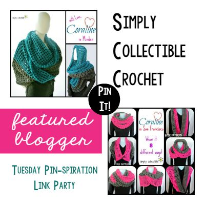 Simply Collectible Crochet Featured Blogger Link Party