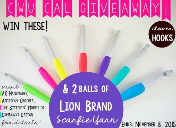 Crochet With Us Giveaway CAL! oombawkadesigncrochet.com