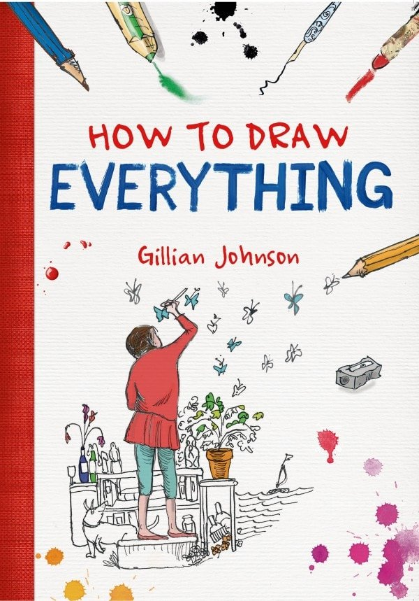 How to Draw Everything | Book Review | oombawkadesigncrochet.com