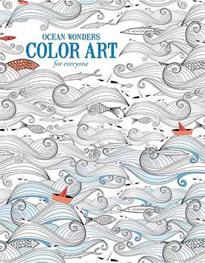 Ocean Wonders Color Art Coloring Book