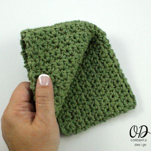 Kitchen Crochet   Finished Dishcloth   LLANCS   oombawkadesigncrochet.com