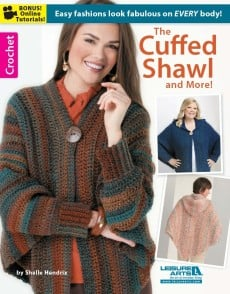 The Cuffed Shawl | Book Review | oombawkadesigncrochet.com