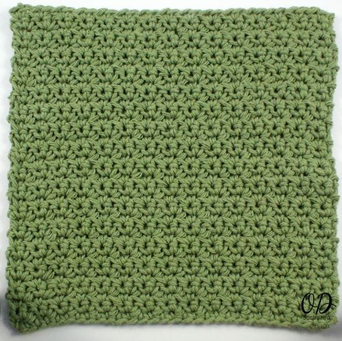 Kitchen Crochet | Finished Dishcloth | LLANCS